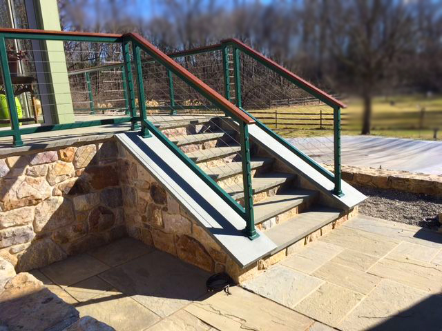 Cable Railing Steps